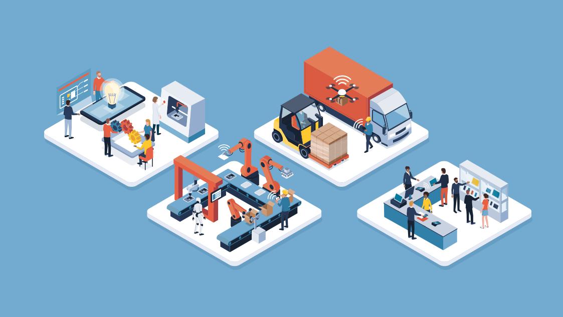 piso de indústria